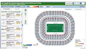 NFL_ NFL Playoffs NFC Divisional Game_ Dallas Cowboys @ Minnesota Vikings tickets