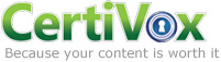 CertiVox - Protect, Deliver, Track, Control & Brand your documents and media