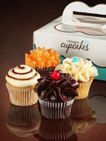 In a move that is sure to turn the cupcake world upside down, Cinnabon is celebrating its 25th anniversary with the addition of cupcakes to its bakeries' lineup!