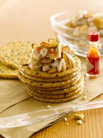 almond recipe, spicy crunchy tuna with almonds, recipe almonds, bear grylls, snack recipe
