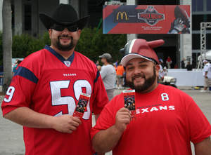 Marco Hernandez, Houston Texans Designated Driver for the Season