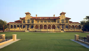 The TPC Sawgrass Clubhouse, home of THE PLAYERS, features JELD-WEN Custom Wood windows and interior doors.