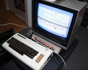 Commodore VIC-20 and TweetVER Software