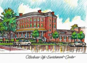 Rendering of proposed Otterbein life enrichment center