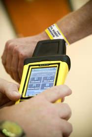 Clincher RFID Inmate ID Wristband