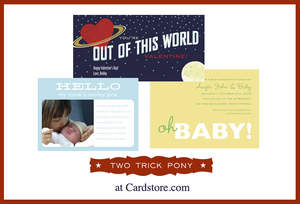 Two Trick Pony Cards at Cardstore.com