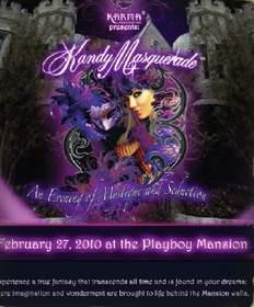 Kandy Masquerade at KandyEvents.com