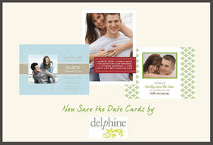 Delphine Photo Save the Date Cards at Cardstore.com