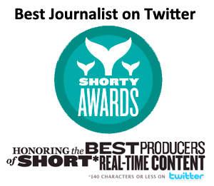 Short Awards for Best Journalist on Twitter