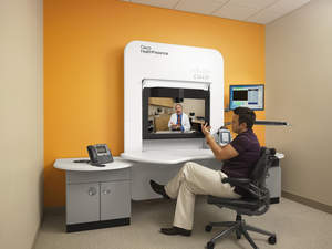 Cisco HealthPresence telemedicine technology - remotely connecting clinicians with patients.