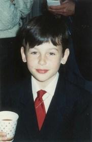 Trace as a boy