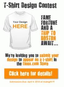 design contest, Linux Store