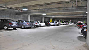 Parking Garage with LED Lighting by Lunera