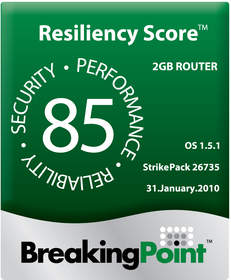 network security performance resiliency