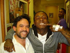 Miami Cosmetic Dentist Dr. Virgil Mongalo and Lil Wayne
