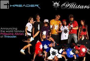 Announcing the Philippine Allstars on Threader