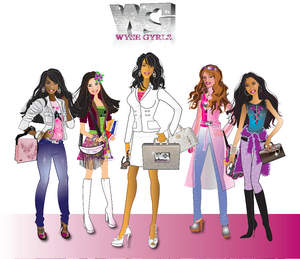 Rhonda Coleman & The Wyse Gyrls Interactive Doll Collection