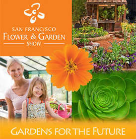 2010 San Francisco Flower & Garden Show Poster