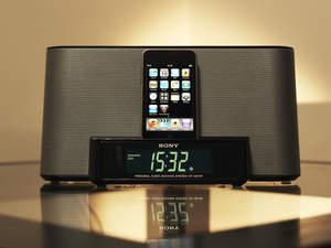 Sony, Clock Radio, iPod dock, Speaker dock, iPod Clock radio, ICF-S11iP, ICF-C05iP