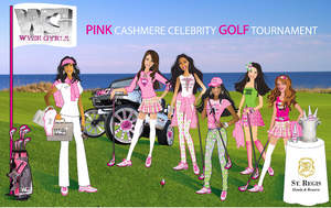 WyseGyrls Pink Cashmere Celebrity Golf Tournament