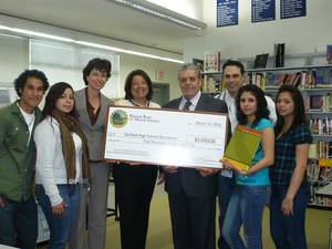 At Risk Students Of Garfield High School Receive Education Grant