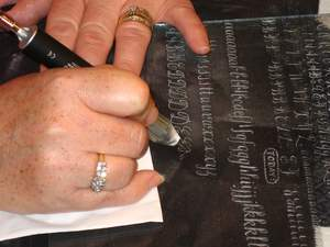 calligraphy, engraving, home-based business, lettering, wine bottle engraving, crystal engraving