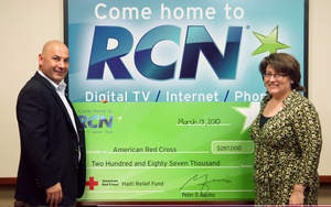 RCN donates $287,000 to the American Red Cross Haiti Relief Fund