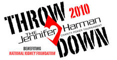 The Jennifer Harman US Poker Throw Down at Peppermill Reno benefits the National Kidney Foundation
