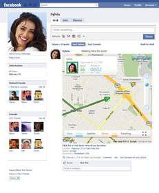 Glympse allows you to share your location in real-time on Facebook
