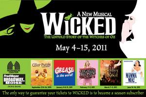 Wicked Musical in Boise