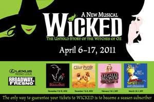 Wicked Musical in Fresno