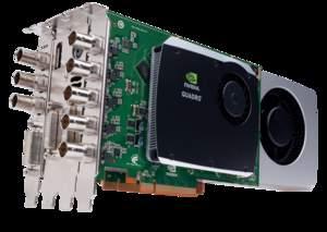 NVIDIA Quadro Digital Video Pipeline with NVIDIA Quadro FX 5800 pro graphics card