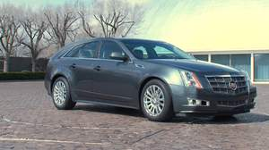 2010 Cadillac CTS in ChromaFlair (tm) Thunder Gray