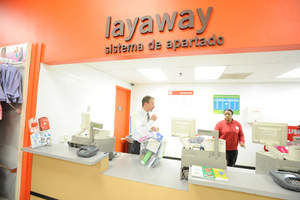 Kmart layaway is available year round and allows shoppers to purchase items using an eight-week payment plan. For more information visit www.kmart.com/layaway
