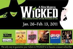 Wicked Musical in Albuquerque