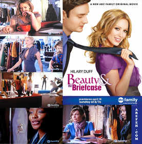 Hilary Duff beauty and the briefcase Arefeh Mansouri  fashion abc family movie clothing lovebusiness