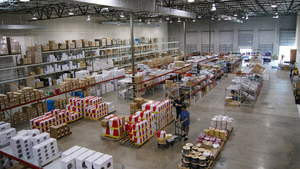 Wave Electronics distribution center - A/V & CI supplier for TX, OK AR, LA and MS