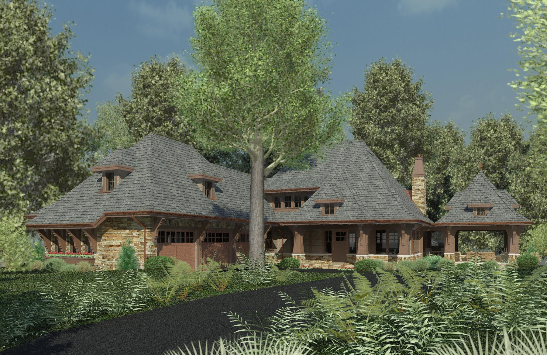 Inspiring stone cottage house plans 16 photo home for Stone cottages plans