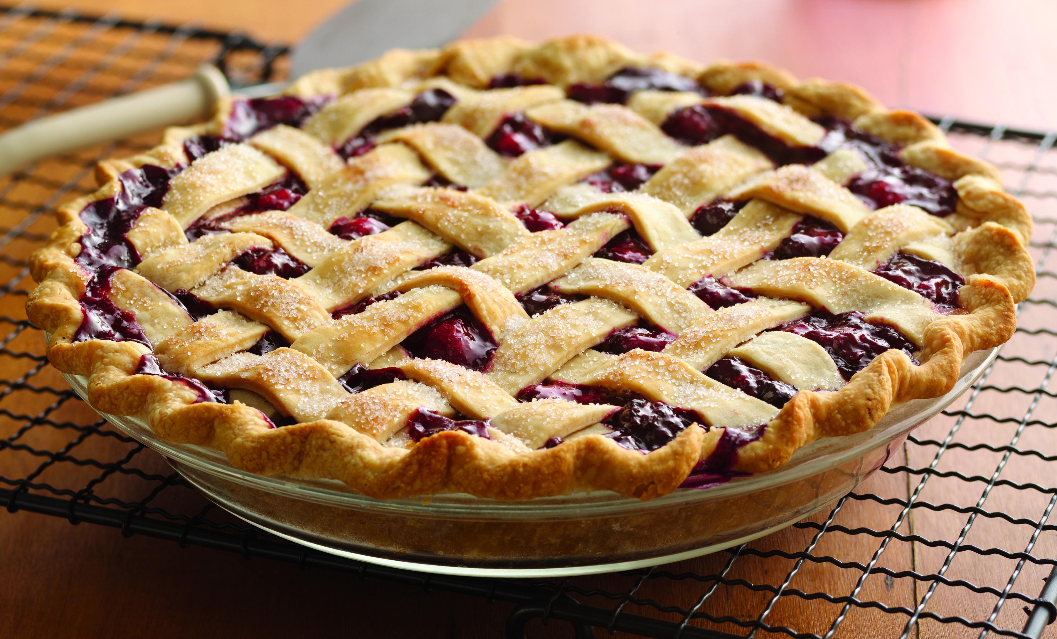 Открытые пироги с ягодами рецепт с