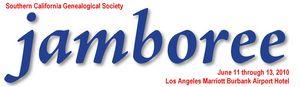 The  41st Annual Southern California Genealogy Jamboree