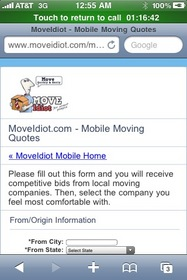 Free Moving Quotes on Your Cell Phone