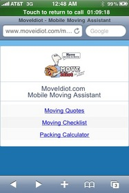 Manage Your Move on Your Cell Phone with MoveIdiot