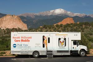 Ronald McDonald Care Mobile, mobile clinic, Ronald McDonald House Charities