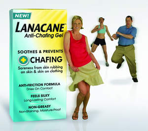 Lanacane(TM) Anti-Chafing Gel