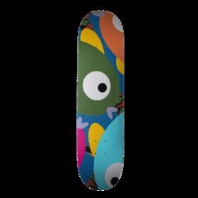 Cute Animals Skateboard - Fish