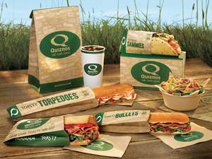 Quiznos Green Packaging