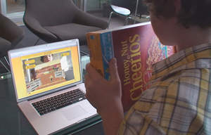 'Honey Nut Cheerios Honeyway Train' augmented reality game based on Unity uses the actual Cheerios cereal box -- connected via webcam -- as the game controller