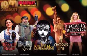 Broadway in Birmingham Musicals