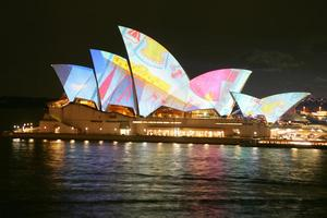 Vivid Sydney, light and music festival, Sydney Opera House, Laurie Anderson, Lou Reed, VIvid Live