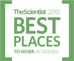 Best Places to Work in Academia 2010